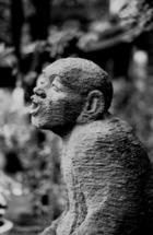 嶋田屋の石像1